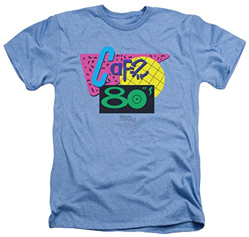 Back To The Future II - Cafe 80's T-Shirt Size L