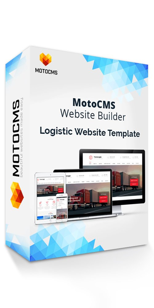Amazon com: Transportation & Logistic Company Website Template by