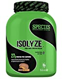 Species Nutrition Isolyze Peanut Butter Supplement, Chocolate, 3.1 Pound