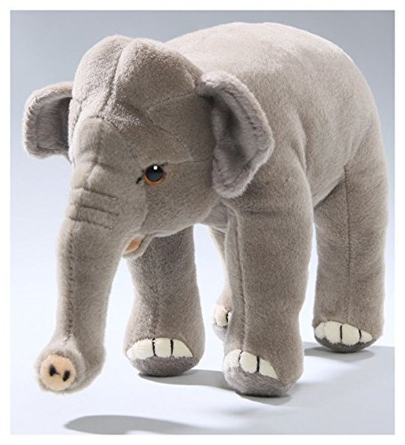 (Carl Dick Elephant Standing 8.5 inches, 20cm, Plush Toy, Soft Toy, Stuffed Animal 3147)