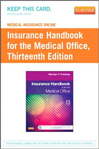 Medical Insurance Online For Insurance Handbook For The Medical Office  (Access Code), 13e 13th Edition