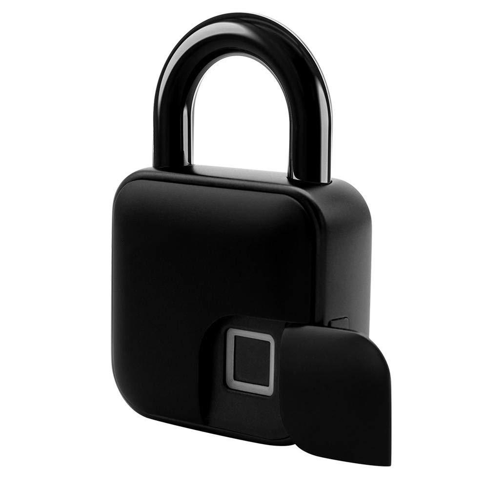 MUYIER Smart Waterproof Fingerprint Lock, IP65 Waterproof Smart Lock Anti-Theft Intelligent Keyless for Gym Locker School Locker Lock Backpack by MUYIER