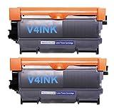 Compatible Brother (TN-450BK / TN450BK / TN450 / TN-450) Toner Cartridges for Brother MFC 7360N 7460DN 7860DW / HL 2220 2230 2240 2240D 2270DW 2280DW Printer – 2 Pack – Black, Office Central
