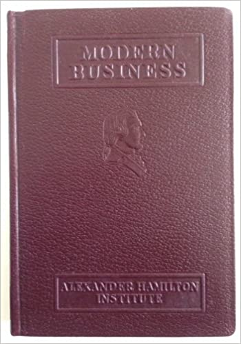 Modern Business, Alexander Hamilton Institute, Complete 24 Vol ...