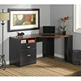 Wheaton Collection Reversible Corner Desk Bush Industries--DROPSHIP