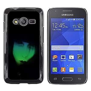 Shell-Star Arte & diseño plástico duro Fundas Cover Cubre Hard Case Cover para Samsung Galaxy Ace4 / Galaxy Ace 4 LTE / SM-G313F ( Neon Goth )