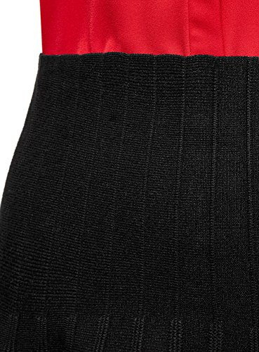 vase 2900n Textur Tricot Noir en Femme oodji Jupe Ultra qwx4tqOa