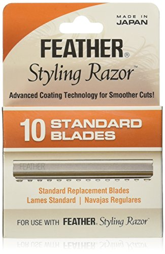 Feather FE-F1-20-100 Standard Blades, 10 Count