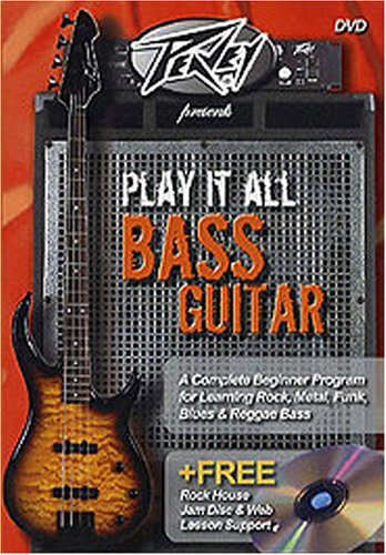 Peavey Presents, Play It All Bass Guitar Beginner by Hal Leonard