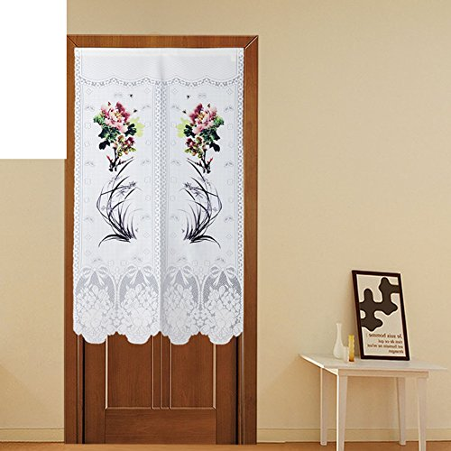 Polyester,knitting, single,printing curtain/cut off,bedroom,feng shui curtain-A (Cut Printing)
