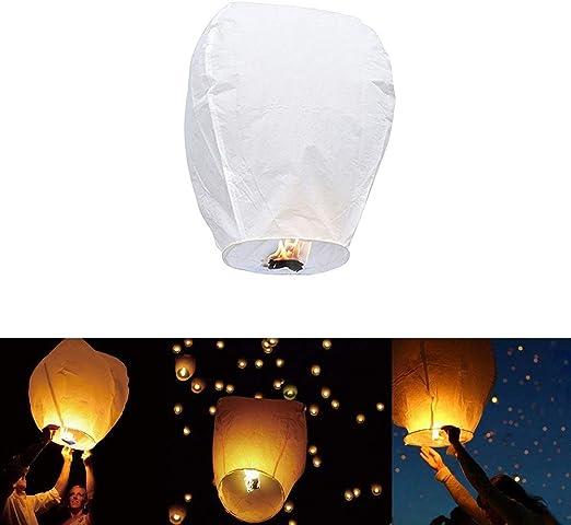 Uyuke Linternas Chinas Linternas de Papel voladoras Linternas de ...