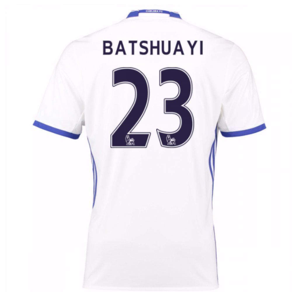 2016-17 Chelsea 3rd Shirt (Batshuayi 23) B077WTZ8X4White Medium 38-40\