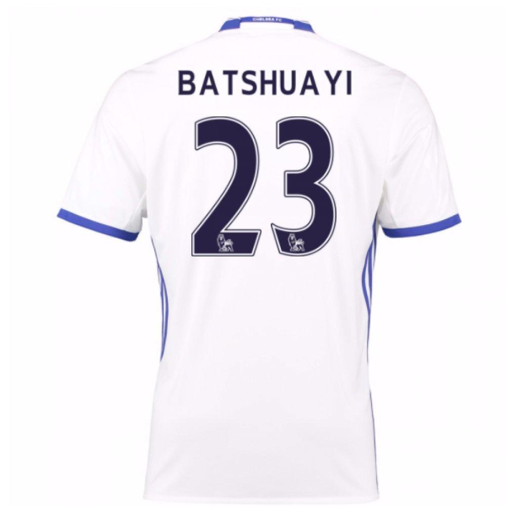 2016-17 Chelsea 3rd Football Soccer T-Shirt Trikot (Mitchy Batshuayi 23) - Kids