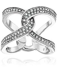 "Michael Kors ""Brilliance"" Banded Narrow Ring"