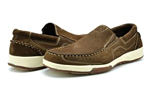 Bruno HOMME MODA ITALY Genuine Leather Casual Men's Loafers Casual Driving Moccasins Shoes