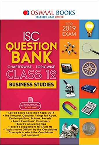 Amazon in: Buy Oswaal ISC Question Bank Class 12 Business Studies