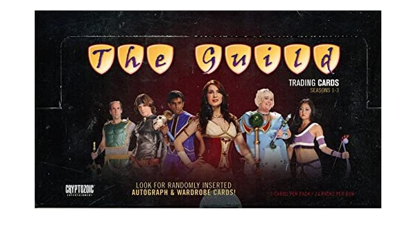 Insert? ONE The Guild Cryptozoic trading cards pack Autograph 1 Wardrobe