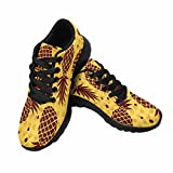 InterestPrint Women's Road Running Walking Shoes Fruit Pattern for Your Business US 9