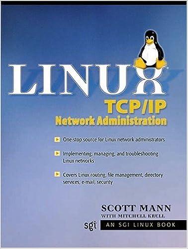 Linux TCP/IP Network Administration: Scott Mann: 9780130322203 ...