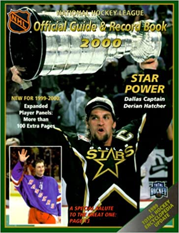 Buy The National Hockey League Official Guide Record Book 2000
