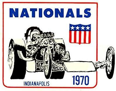 Hurst Shifters Vintage Drag Racing window sticker decal NHRA Rat Rod Street Rod