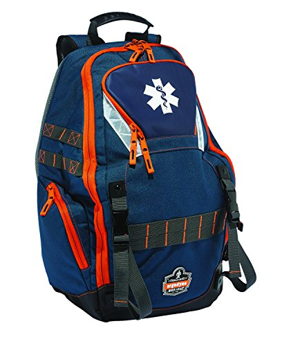 Ergodyne Arsenal 5244 Medic First Responder Trauma Backpack Jump Bag for EMS, Police, Firefighters