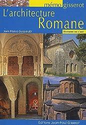 MEMO - L'architecture Romane