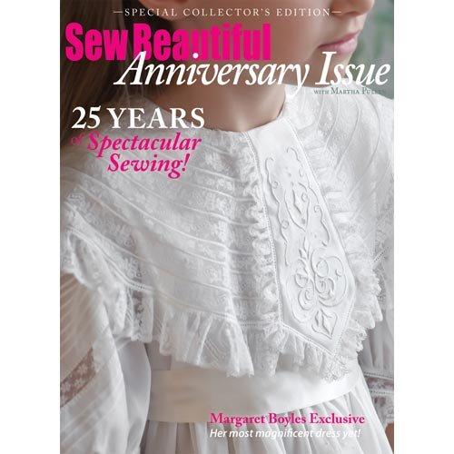 Sew Beautiful Anniversary Issue 2012