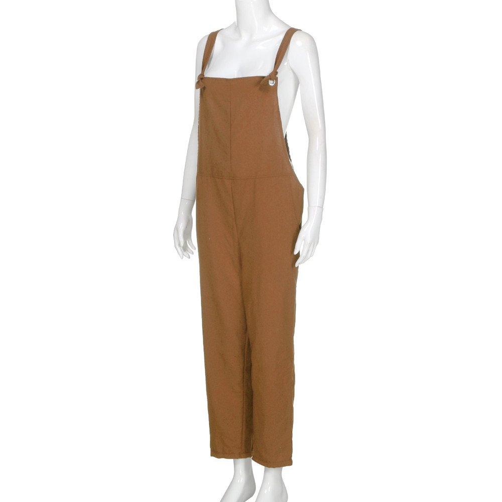Petite Salopette en Jean,Overdose Hiver Soldes Femme Jeans Combinaison Slim Pantalon Taille Haute Denim Noir D/élav/é Trousers