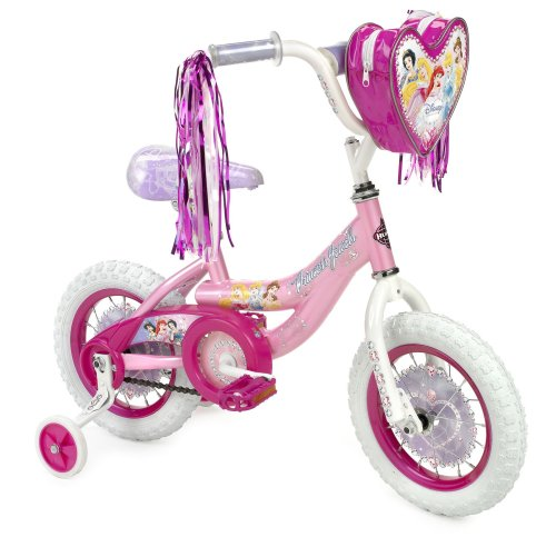 "Huffy Disney Princess 12"" Bike w/Handlebar Magic Mirror"