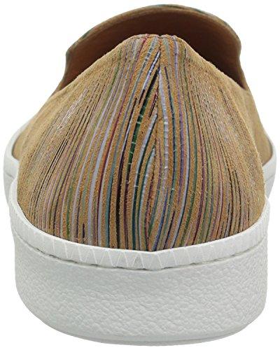 André Assous Femmes Poppy Mode Sneaker Tan Multi Stripe