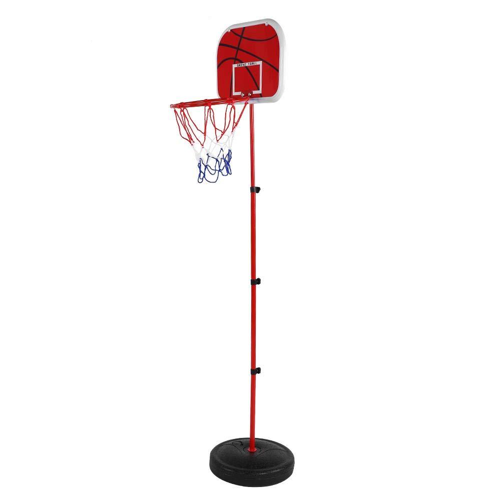 Pump for Indoor Outdoor Iron Rod Hoop/&Net VGEBY Basketball Stand Set Basketball Kids Basketball Hoop Kit Backboard with Base