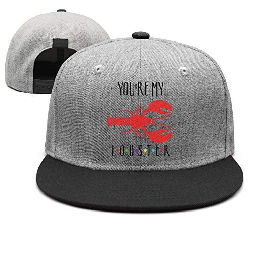 Unisex Funny You're My Lobster Caps Vintage Flat Brim Sun ()