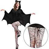WELOVE Women's Cozy Bat Costume Sexy Halloween Cosplay Costumes L XL