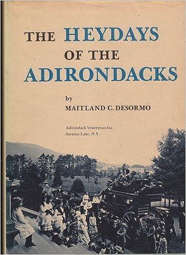 Book The heydays of the Adirondacks