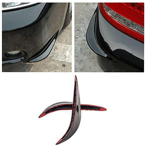 Universal Stick-on Car Rear Bumper Anti-rub Edge Lip Anticollision Protector Protection Guard by Amazinea