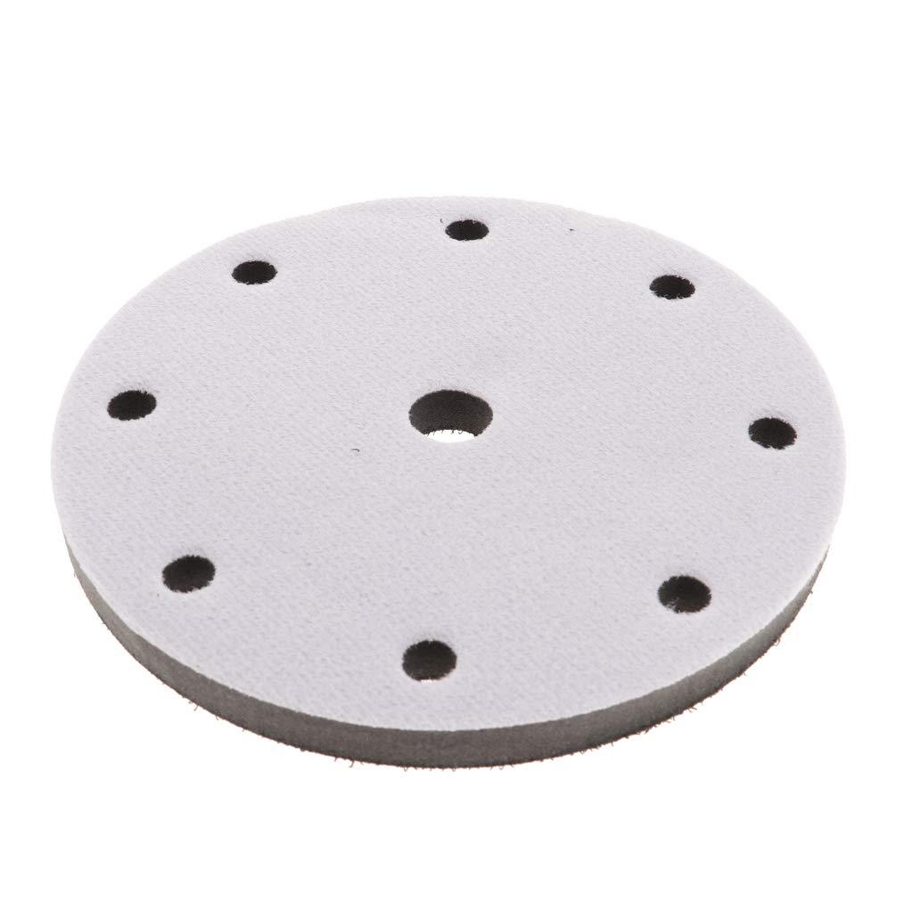 Baosity Soft Density 6 Inch Buffer Buffing Pads Sponge Interface Pad