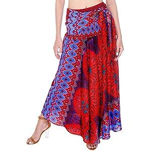 Joop Joop 2 in 1 Maxi Skirt and Midi Dress Bohemian Loose Flowing Boho Summer Travel Beach Cover-Up Festival Casual Skirt 22