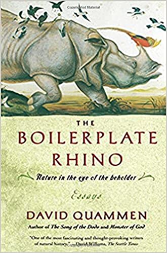 Wonder Of Science Essay The Boilerplate Rhino Nature In The Eye Of The Beholder David Quammen   Amazoncom Books Business Management Essays also Research Papers Examples Essays The Boilerplate Rhino Nature In The Eye Of The Beholder David  Writing A High School Essay