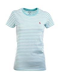 Polo Ralph Lauren Women's Striped Jersey Tee