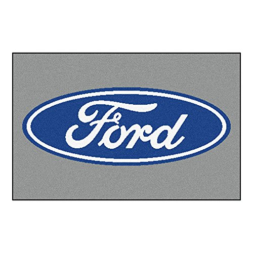 (NASCAR Ford Oval Starter Rug, 19