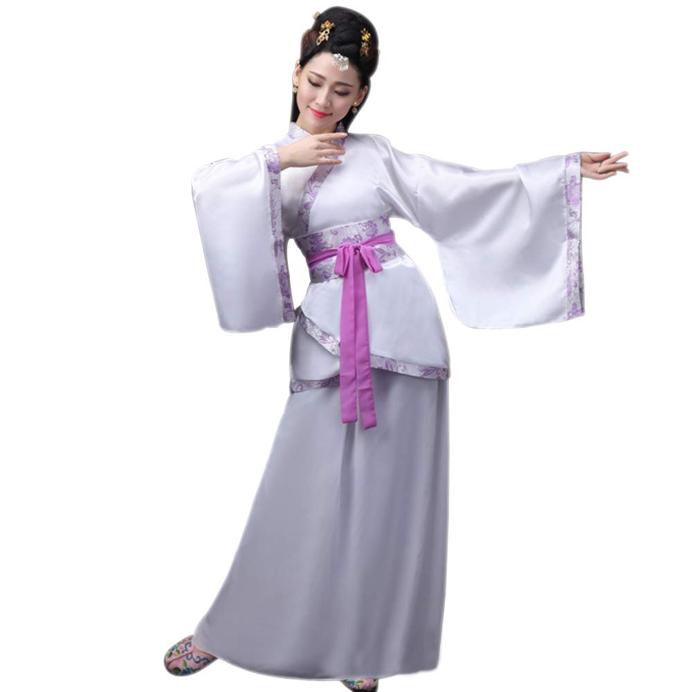 ... Ropa de Mujer Hanfu - Ropa de Estilo Chino Antiguo Traje de Vestimenta  Tradicional Nacional - Show de Escenario Actuaciones Cosplay Disfraz  Amazon .es  ... 04bb60a6a6f7