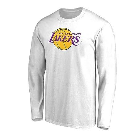 LHDDD NBA Suéter NBA nuevos Lakers Deportes. y Ocio Camiseta de ...