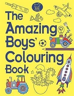 The Boys\' Coloring Book: Amazon.co.uk: Jessie Eckel: 9781454907169 ...
