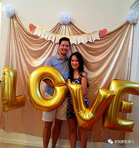 Langxun Balloons Air filled Birthday Engagement product image