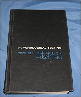 psychological testing anne anastasi pdf free download