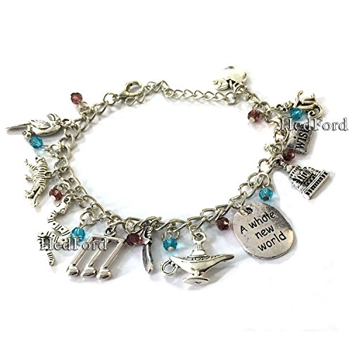 famous-aladdin-silver-charm-bracelet