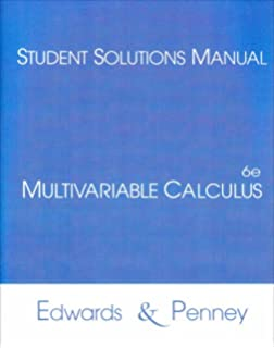 Calculus with analytic geometry ch jr edwards david e penney multivariable calculus student solutions manual fandeluxe Gallery