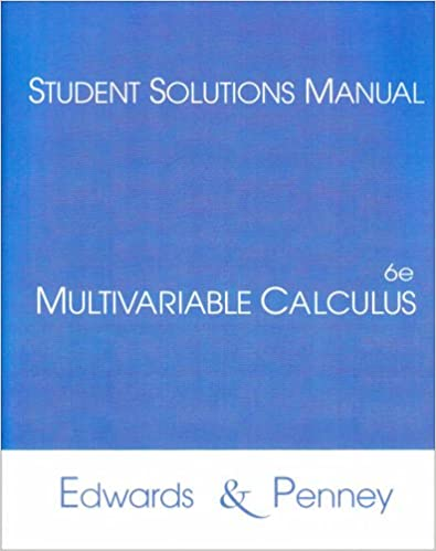 Multivariable calculus student solutions manual c henry edwards multivariable calculus student solutions manual c henry edwards david e penney 9780130620231 amazon books fandeluxe Choice Image