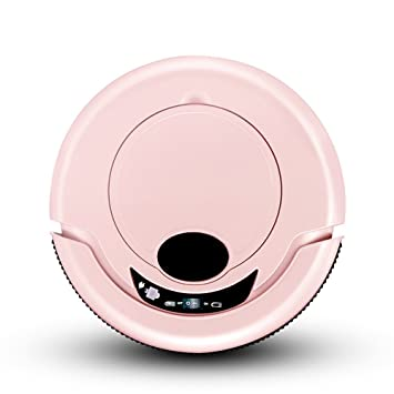 Zhanghaidong Mini Intelligent Barredora De Aspiradora Automática Sweep A Bordo Portátil De Aspiradora Rosa Pet Robot Aspirador Recargable Artículos para El ...